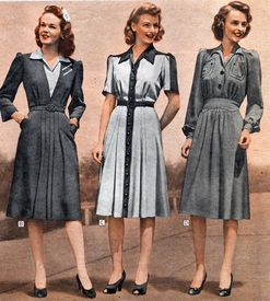 3a7f95e250238 I m obsessed with 1940s British fashion. A time of war and rations