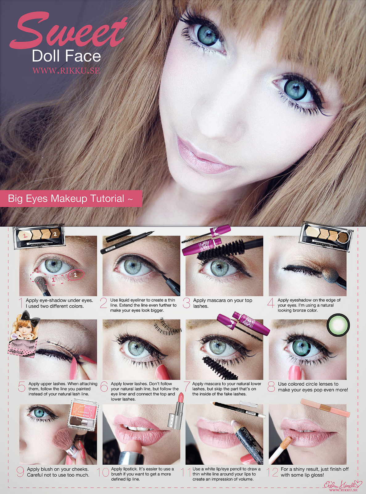 Ot can gyaru makeup work good for western features 1437073528986g baditri Choice Image