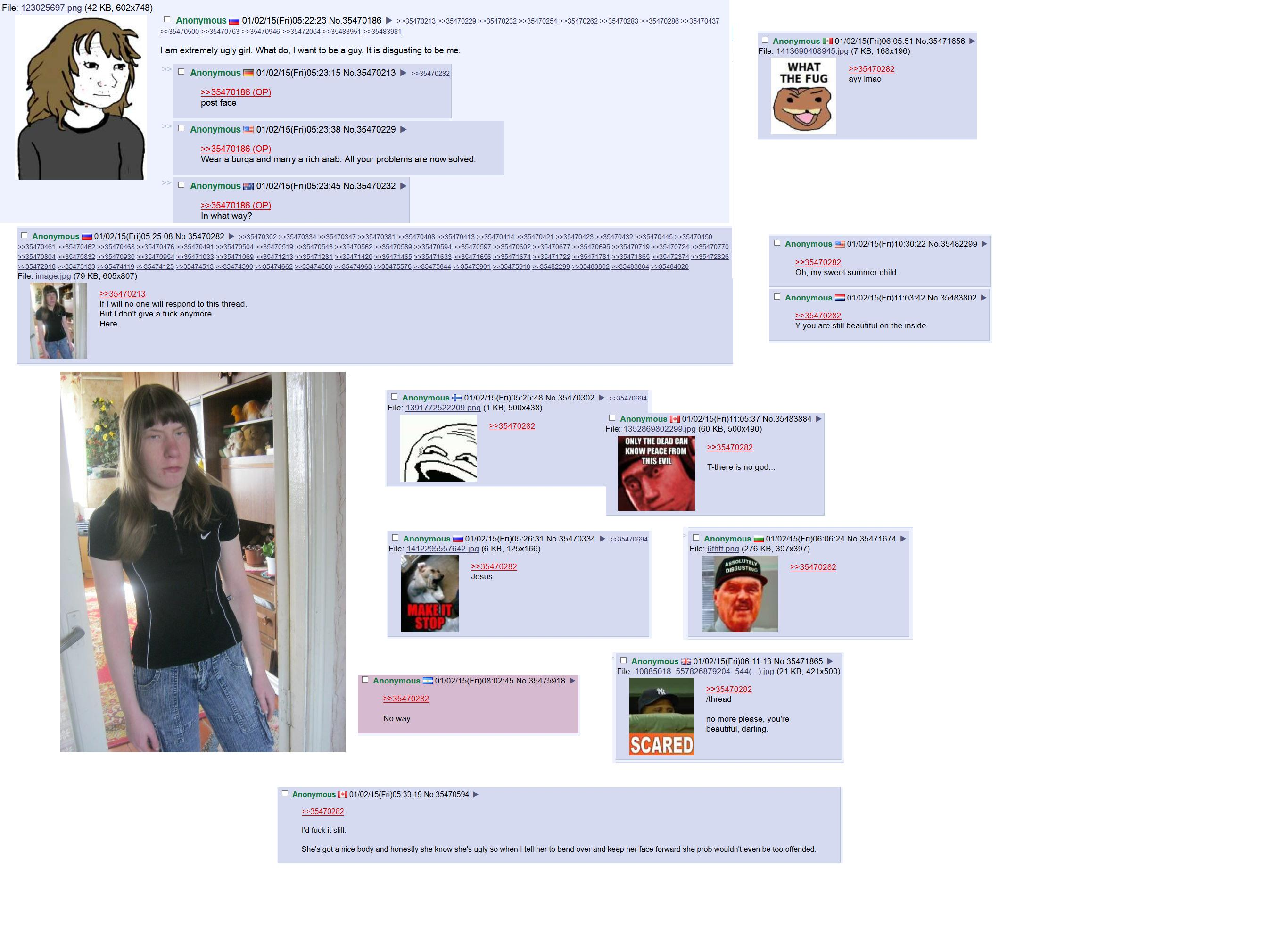 4Chan Bf Dicovered Porn Actress ot/ - ugly thread