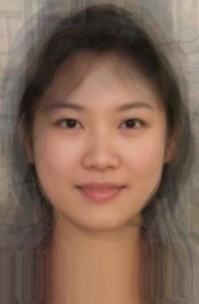 Normal asian girl