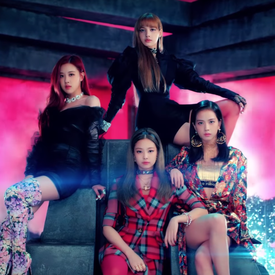 436b110902f8 BlackPink s outfits usually look like garbage. Their bootlicker fans often  talk about how regal and luxurious their kweenz look wearing name-brand  stuff