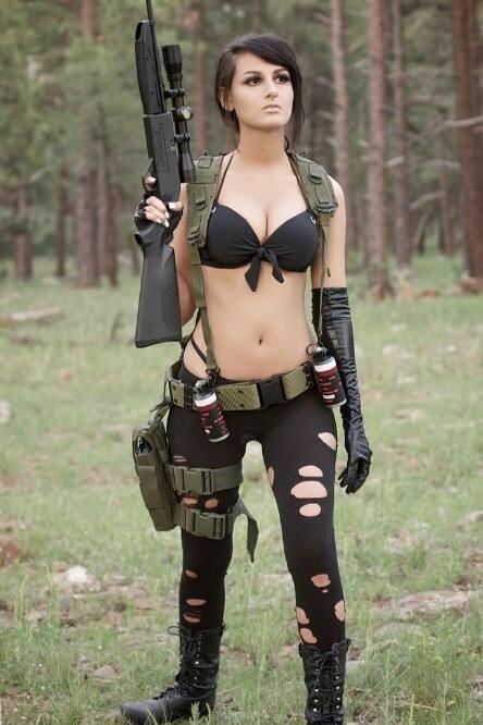 Sssniperwolf cosplay