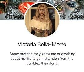 pt/ - Vicky Shingles/Victoria Bella Morte/Miss Victoria Murder #8 - Gosh  She's Average Edition