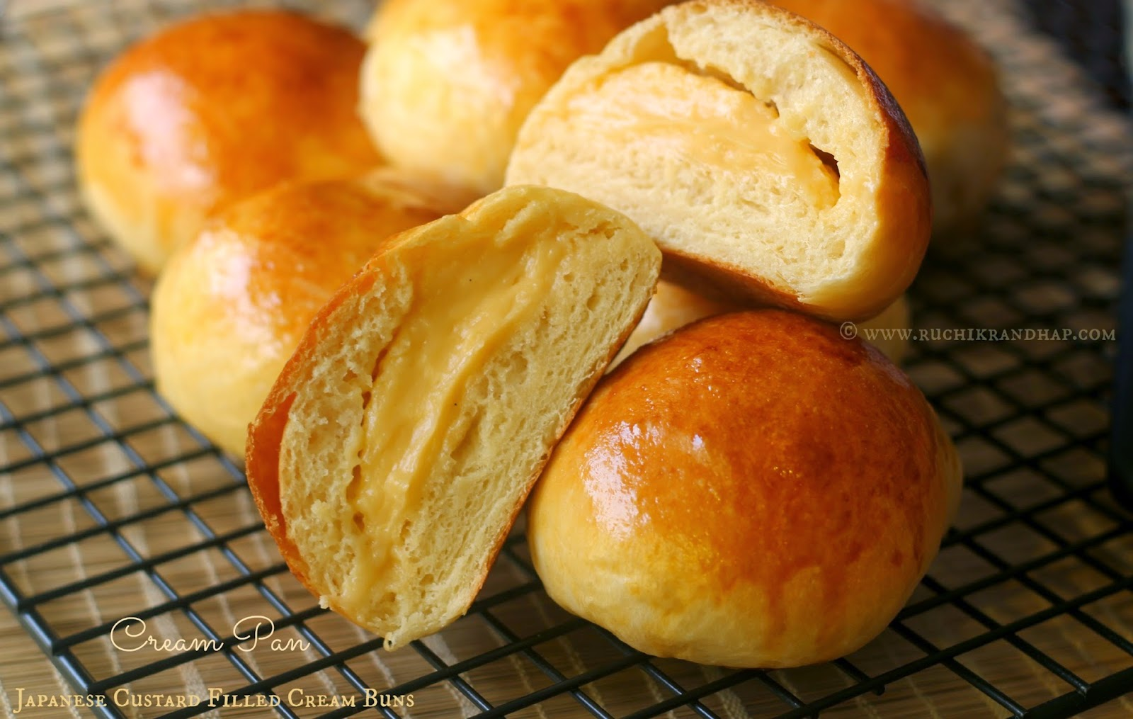 Soft pillowy bread rolls made using a special Japanese technique