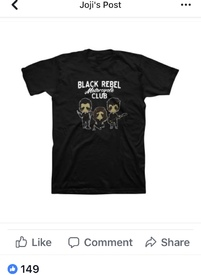 32605f2b T shirt with his art of the band