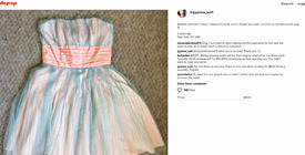 4c33a4d21 Hypocrite Kelly telling other depop sellers that a used Besty J dress is  not worth $400, then goes and prices her own up the same